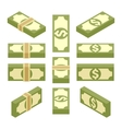 Isometric bundles of paper money vector