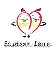 Eastern love vector