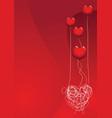 Love is a balloon vector