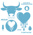 Milk cow vector