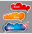 Winter stickers vector