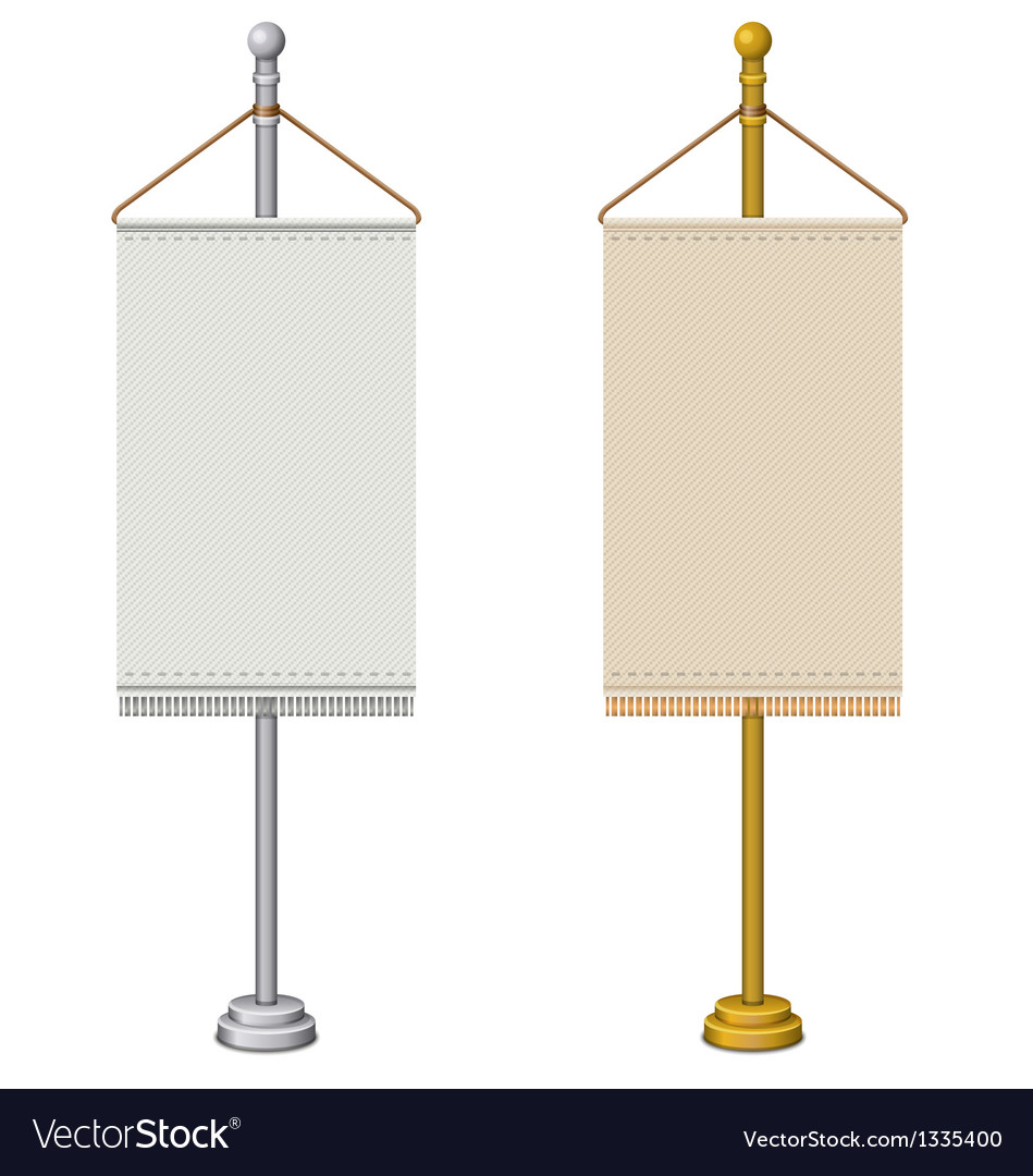 Flag stand vector | Price: 1 Credit (USD $1)