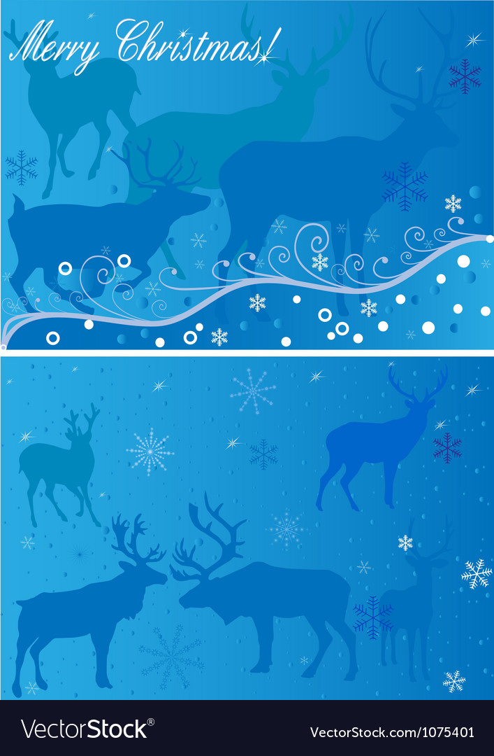 2 xmas backgrounds vector | Price: 1 Credit (USD $1)