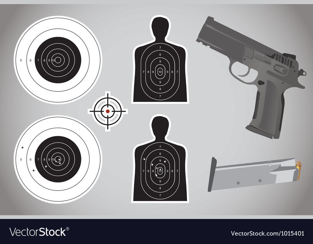 Gunandtargetx vector | Price: 3 Credit (USD $3)