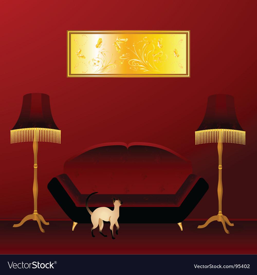 Classic interior vector | Price: 1 Credit (USD $1)