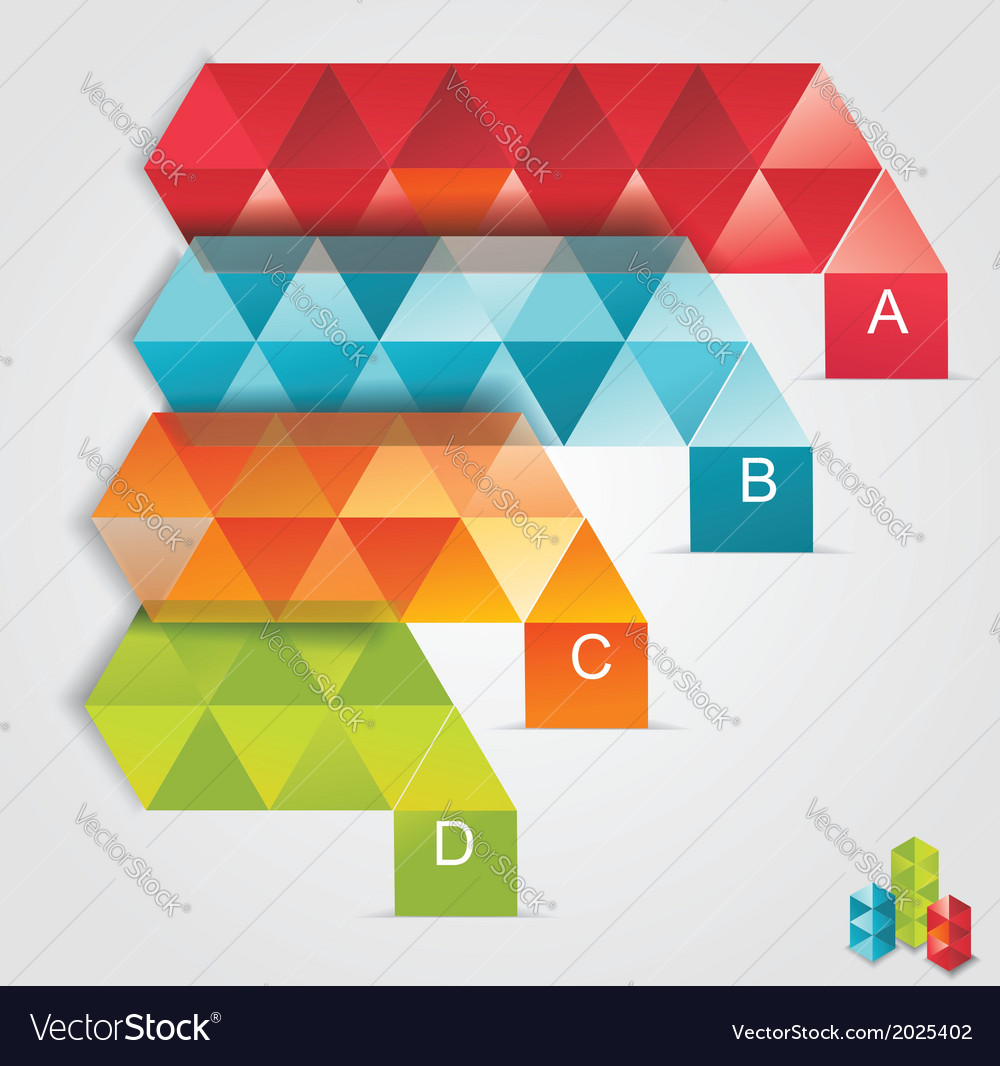 Modern design template isometric style vector | Price: 1 Credit (USD $1)