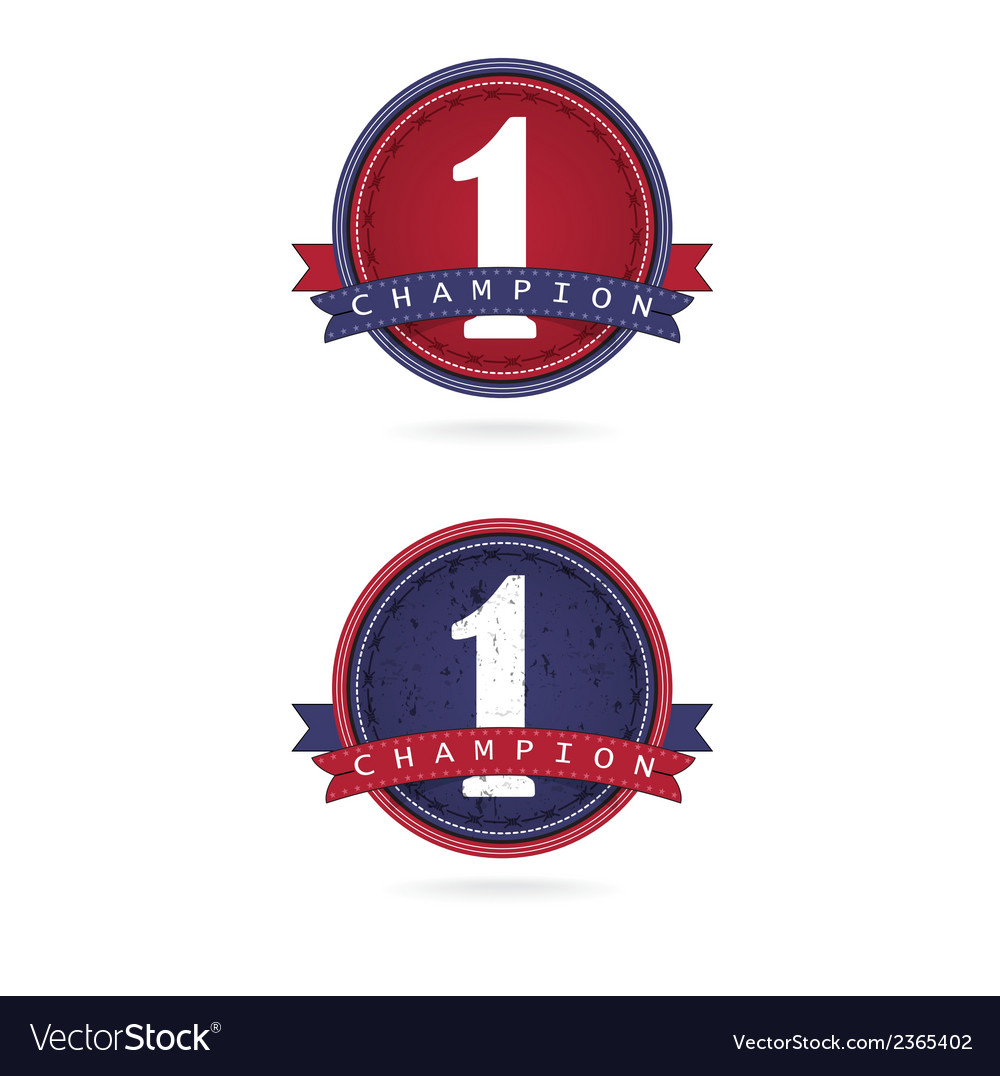 Number one label designfirst sign vector | Price: 1 Credit (USD $1)