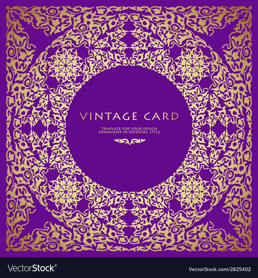 Vintage background traditional islamic motifs vector   Price: 1 Credit (USD $1)