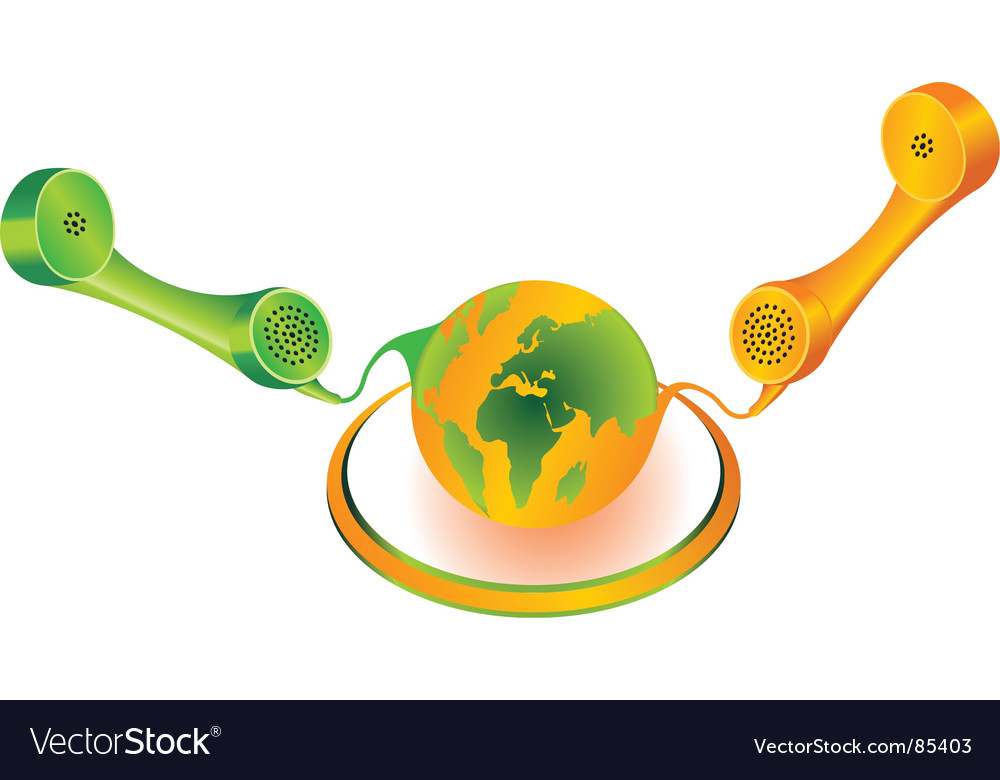 Global telecommunication vector | Price: 1 Credit (USD $1)