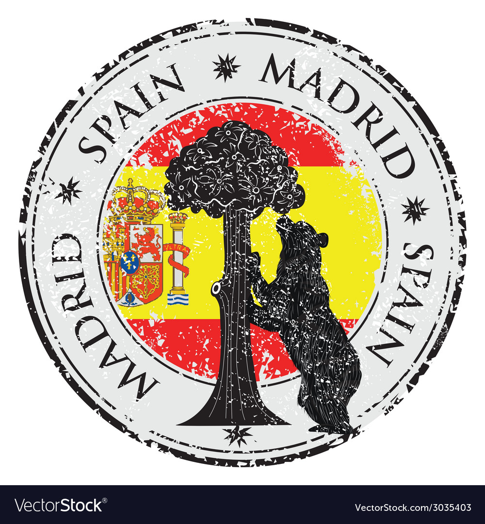 Spain stamp vector | Price: 1 Credit (USD $1)