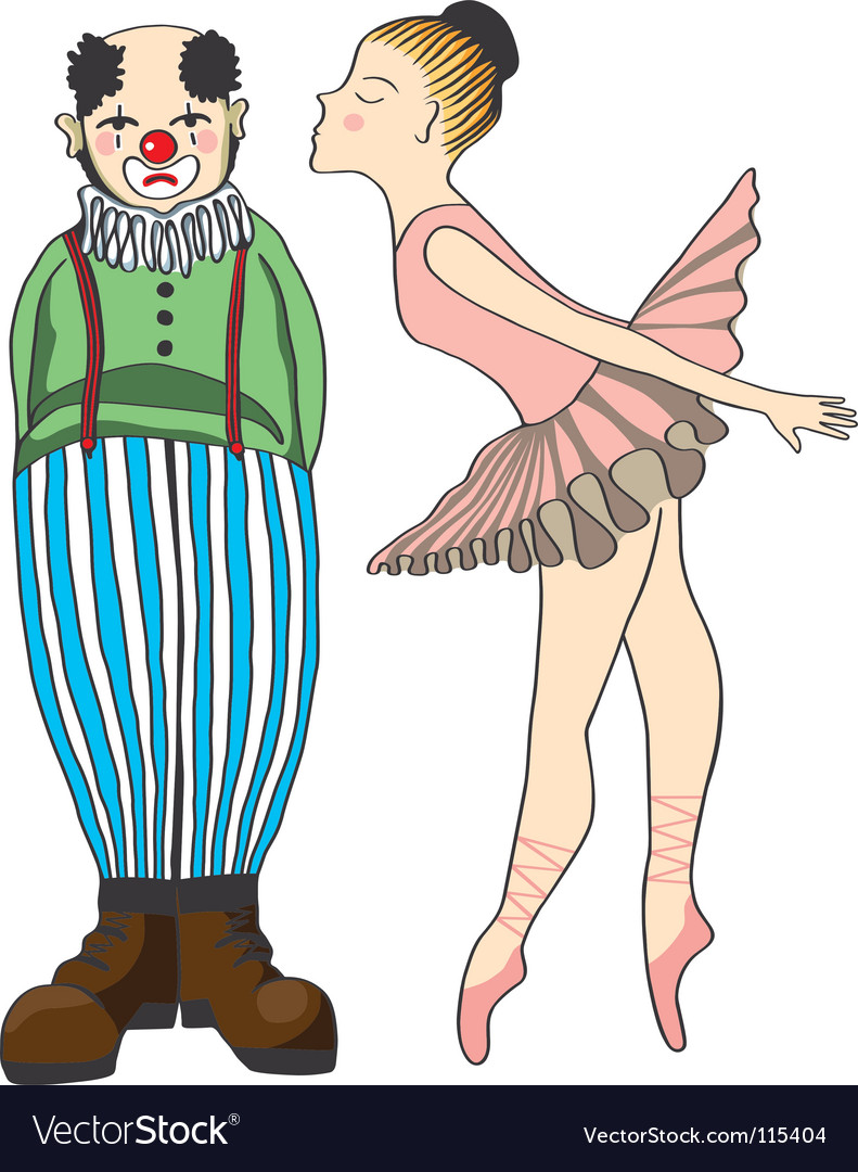 Circus people vector | Price: 1 Credit (USD $1)