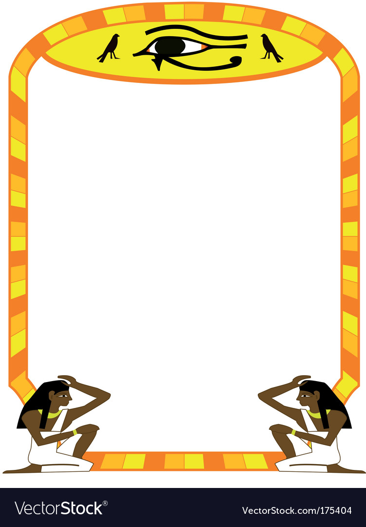 Frame egyptian vector | Price: 1 Credit (USD $1)