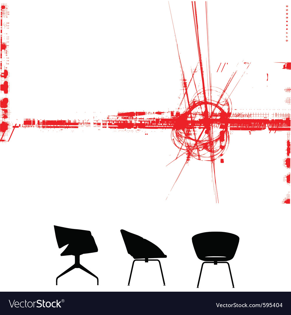 Modern furniture background vector | Price: 1 Credit (USD $1)