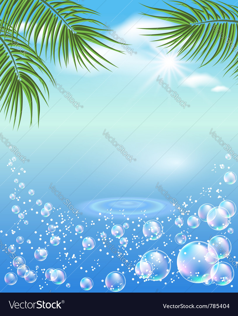 Tropical magic vector | Price: 1 Credit (USD $1)
