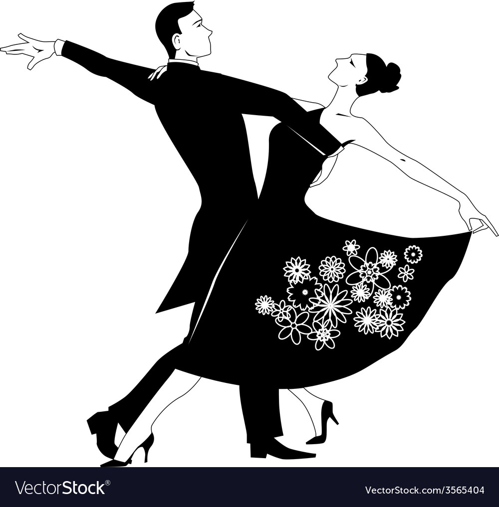 Waltz clip-art vector | Price: 1 Credit (USD $1)