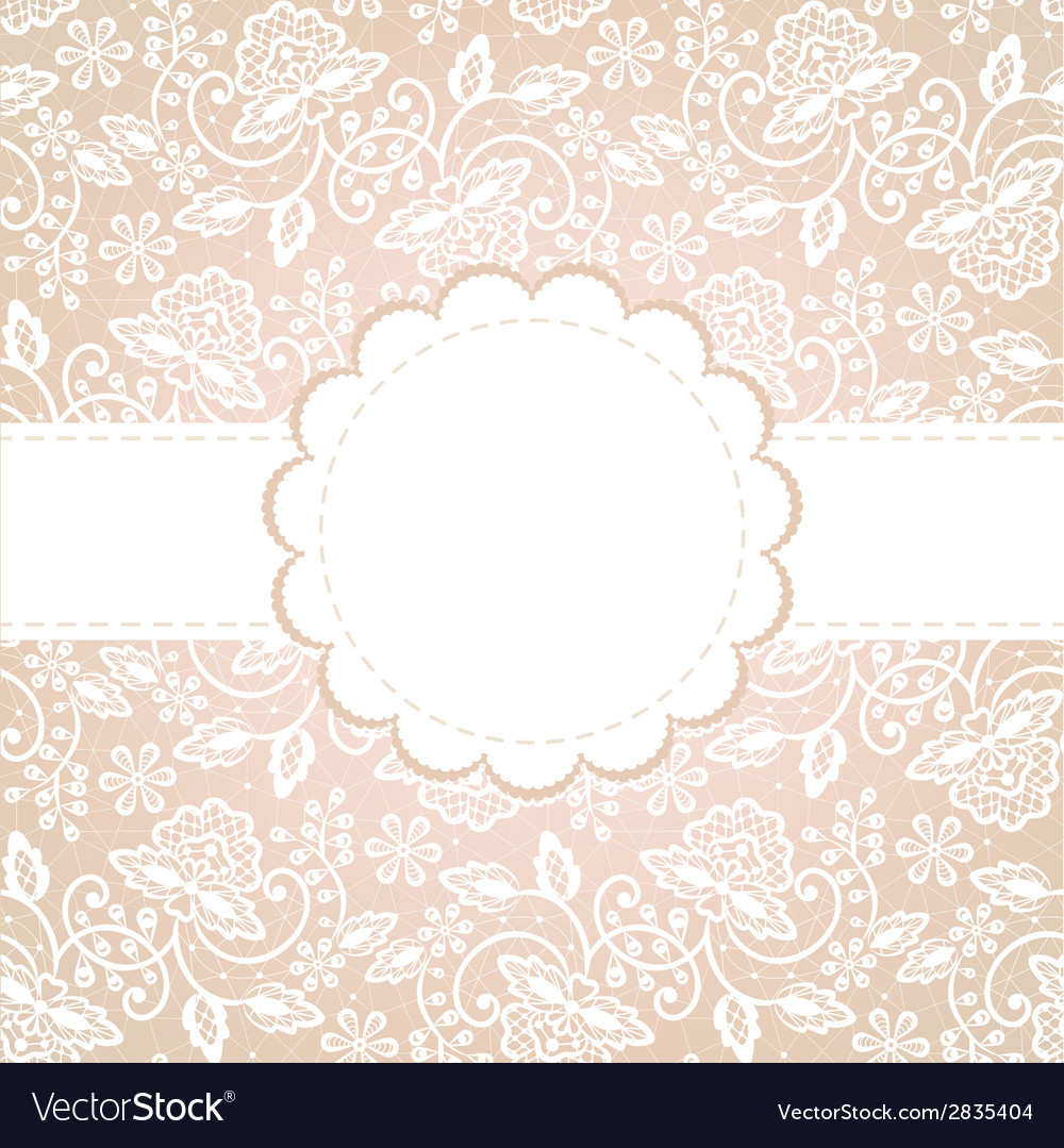 White lace vector | Price: 1 Credit (USD $1)