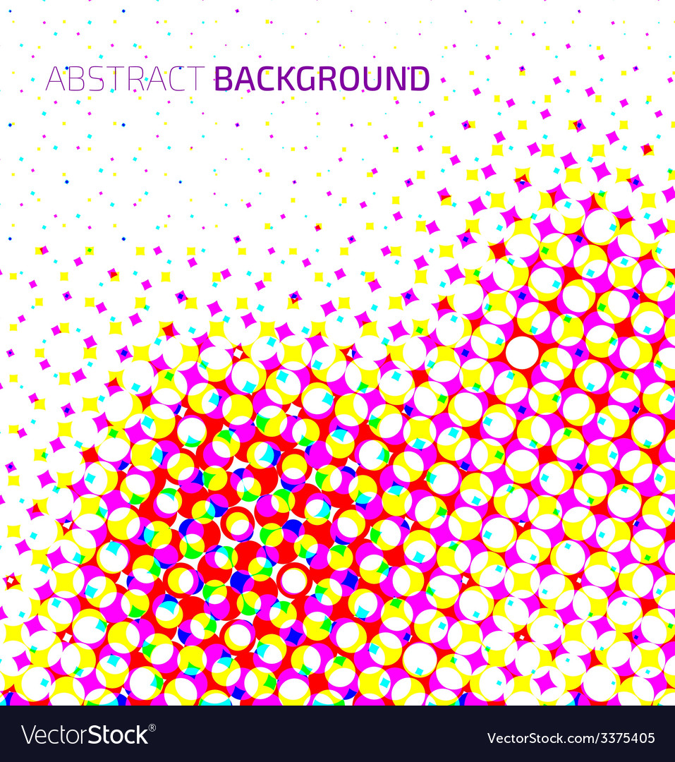 Abstract light colorful halftone background vector | Price: 1 Credit (USD $1)