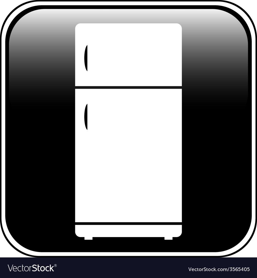 Refrigerator button vector | Price: 1 Credit (USD $1)