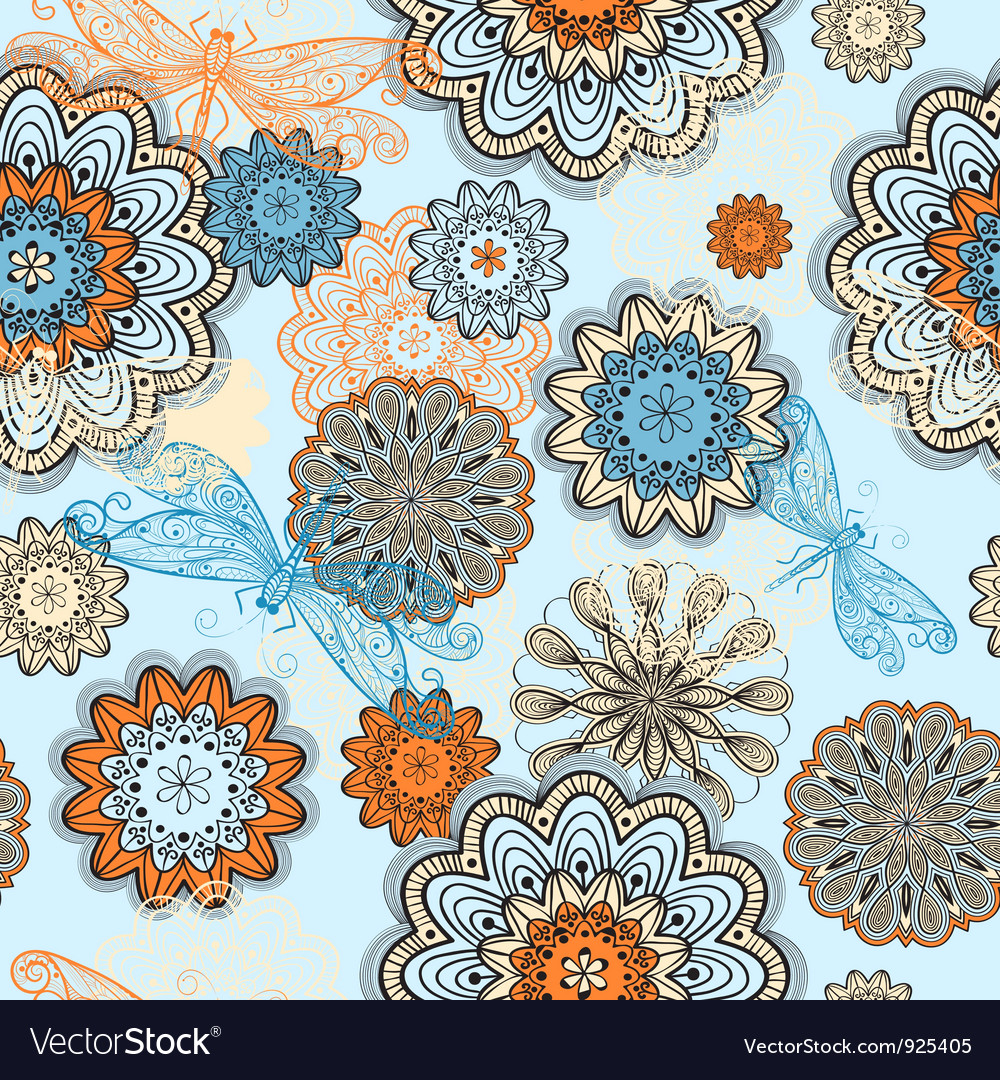 Seamless abstract pattern vector   Price: 1 Credit (USD $1)