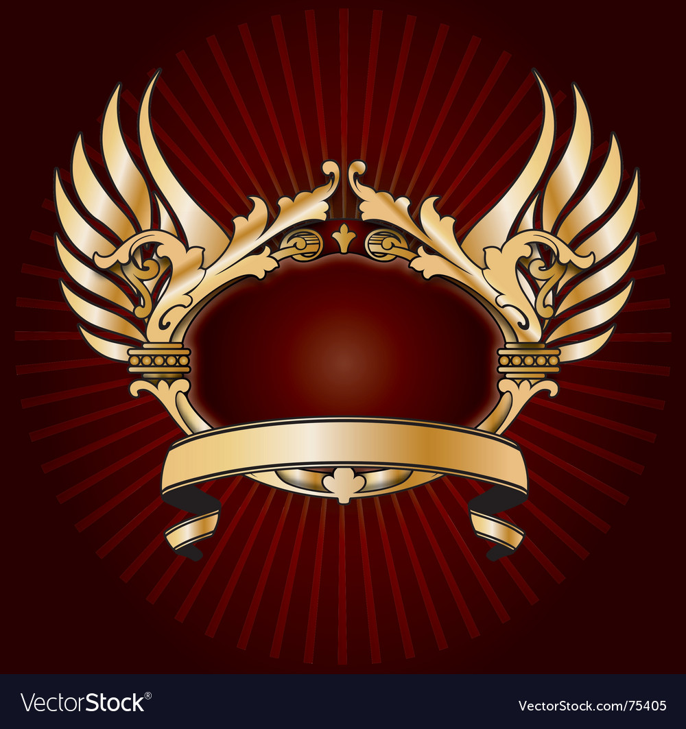 Shiny crest vector | Price: 1 Credit (USD $1)