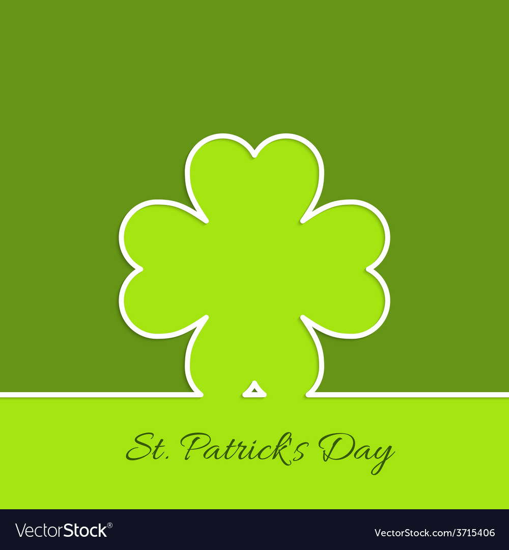 Abstract background with clover quatrefoil vector | Price: 1 Credit (USD $1)