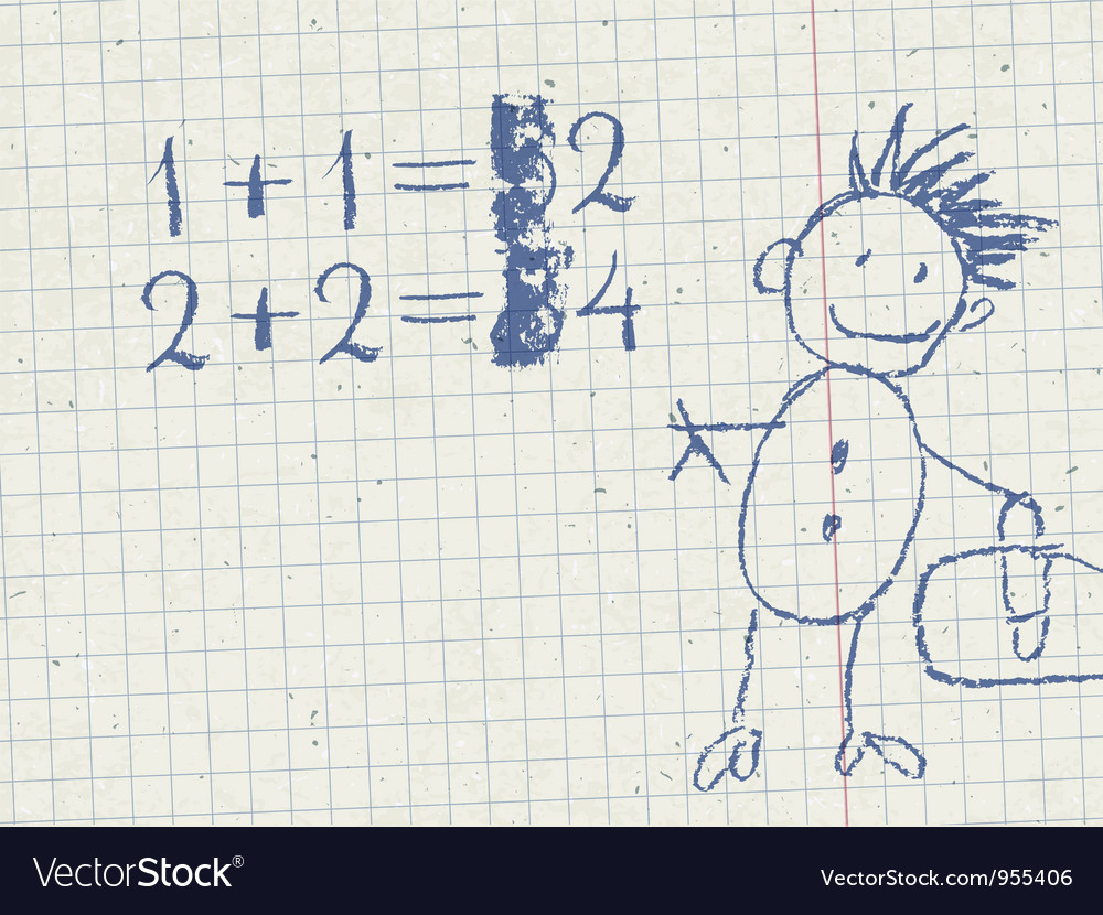 Grade school background vector   Price: 1 Credit (USD $1)