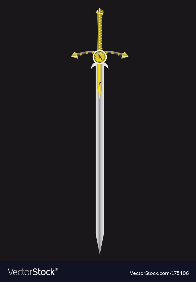 Sword of the king vector | Price: 1 Credit (USD $1)