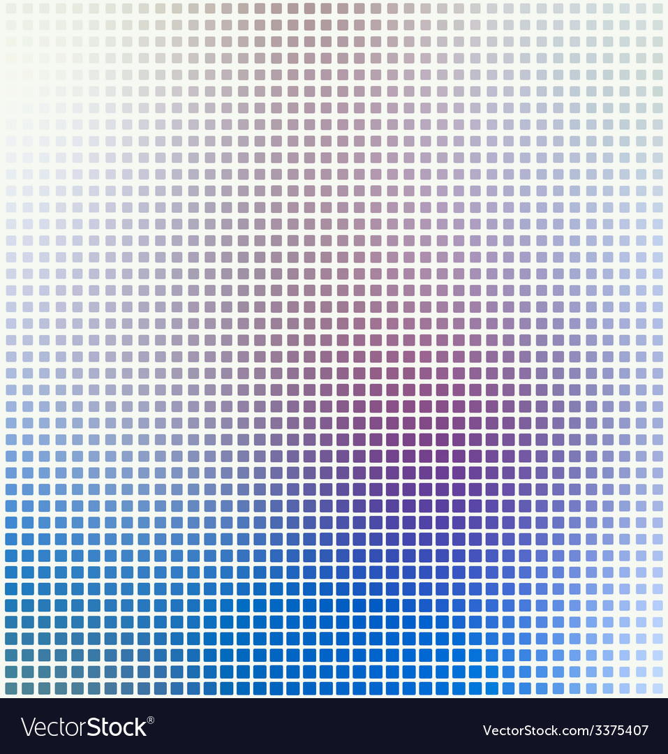 Abstract square pixel mosaic background vector | Price: 1 Credit (USD $1)