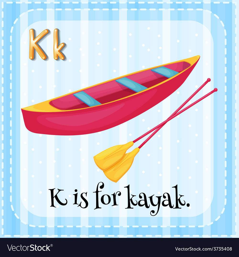 A letter k vector   Price: 1 Credit (USD $1)