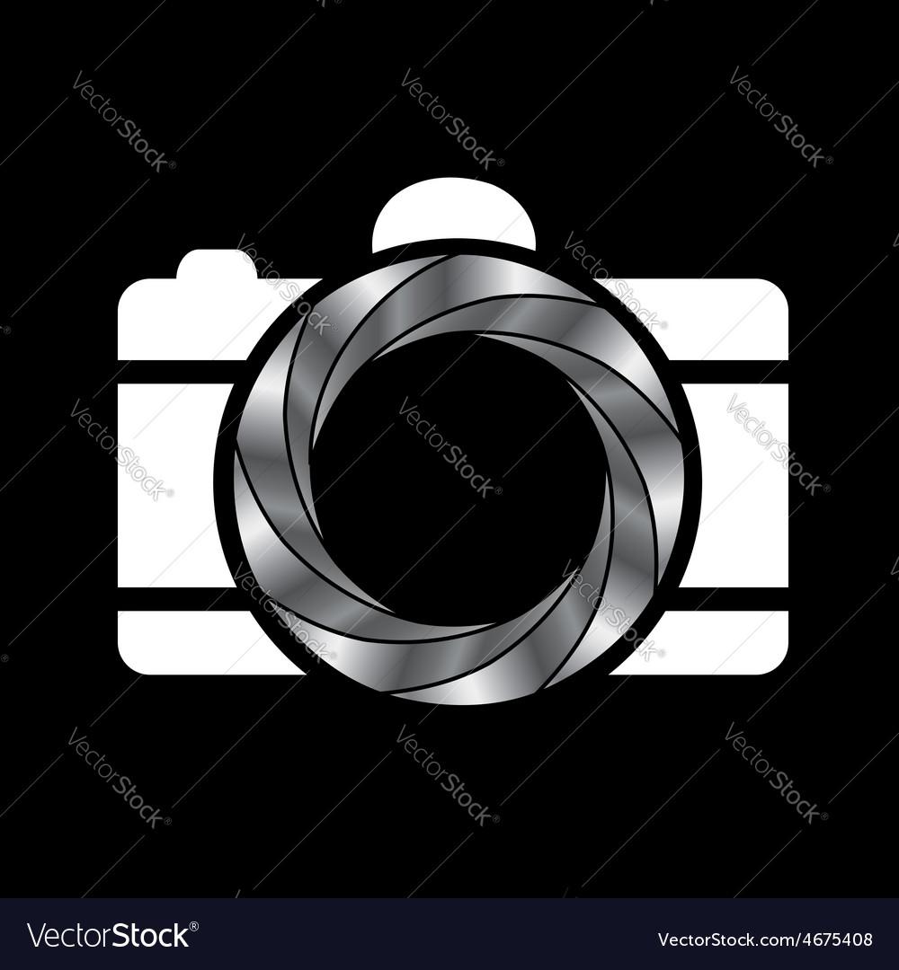 Metallic aperture- photography logo vector | Price: 1 Credit (USD $1)