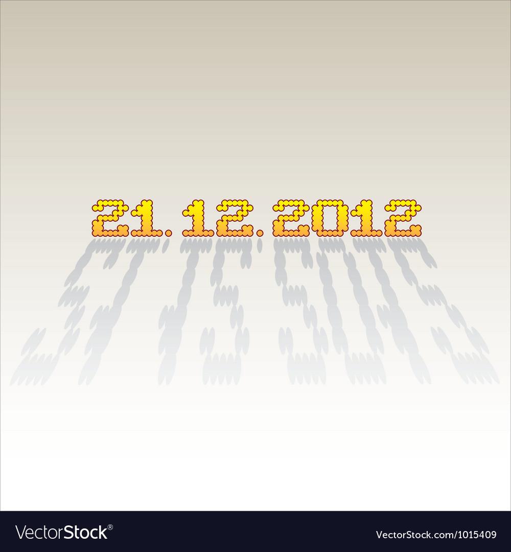 2012 date of apocalypse vector   Price: 1 Credit (USD $1)