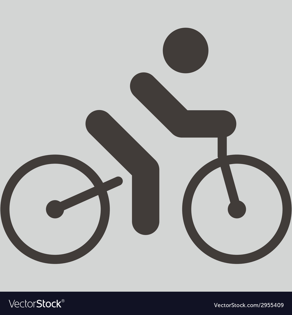 Cycling icon vector | Price: 1 Credit (USD $1)
