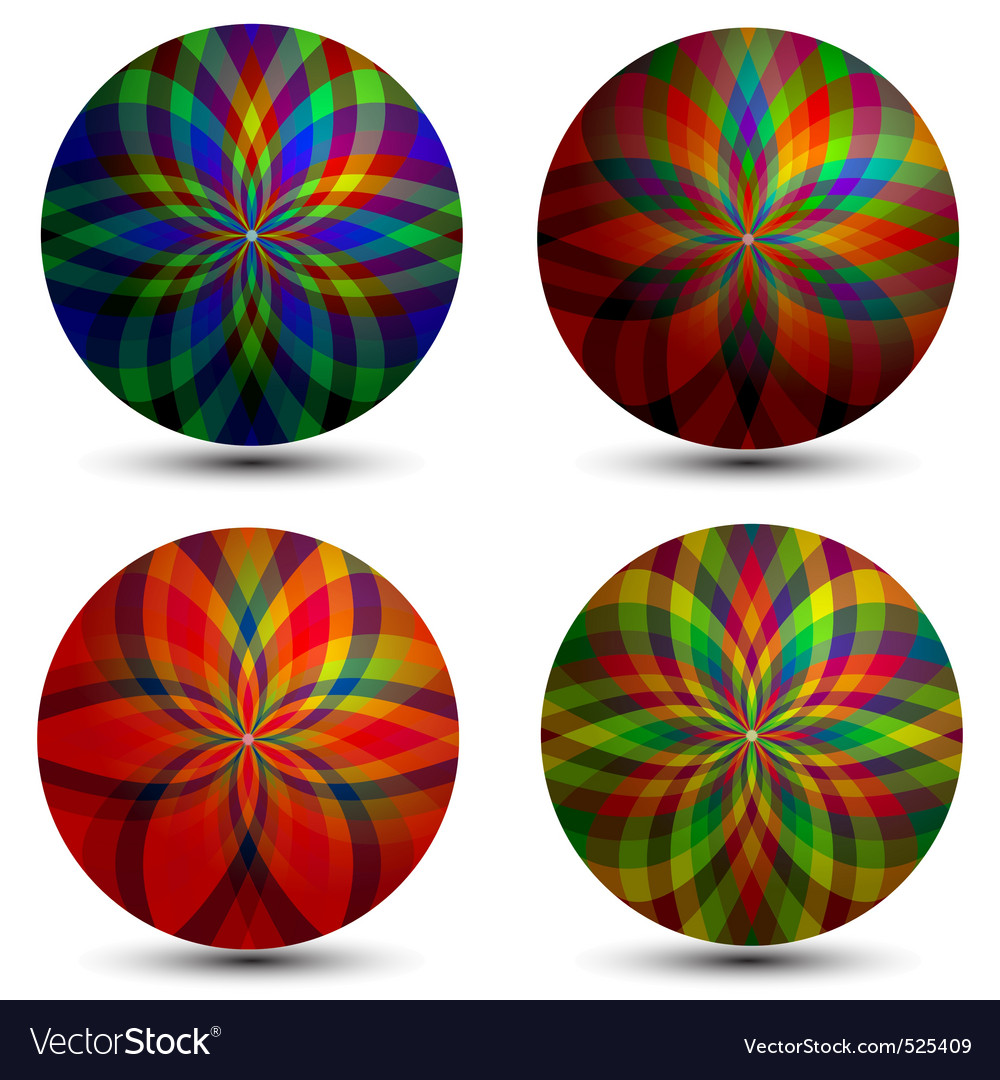 Geometric bubbles vector | Price: 1 Credit (USD $1)