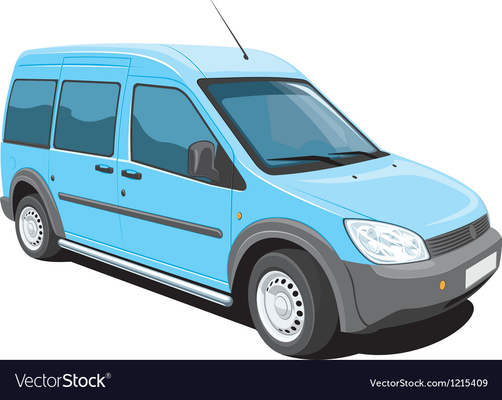 Minivan vector | Price: 3 Credit (USD $3)