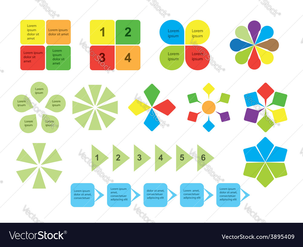 Set of infographics - elements vector | Price: 1 Credit (USD $1)