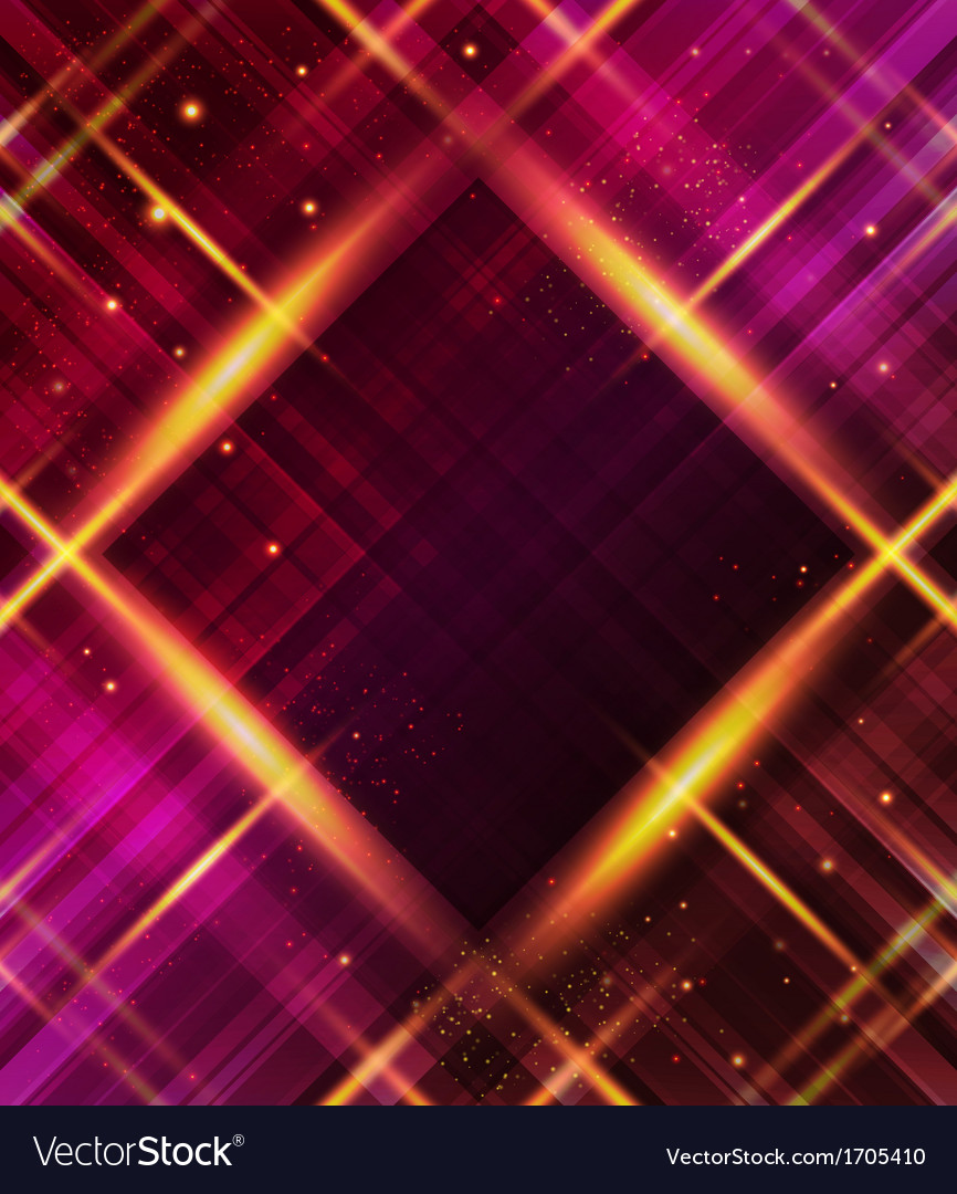 Abstract plaid background with light effects vector | Price: 1 Credit (USD $1)