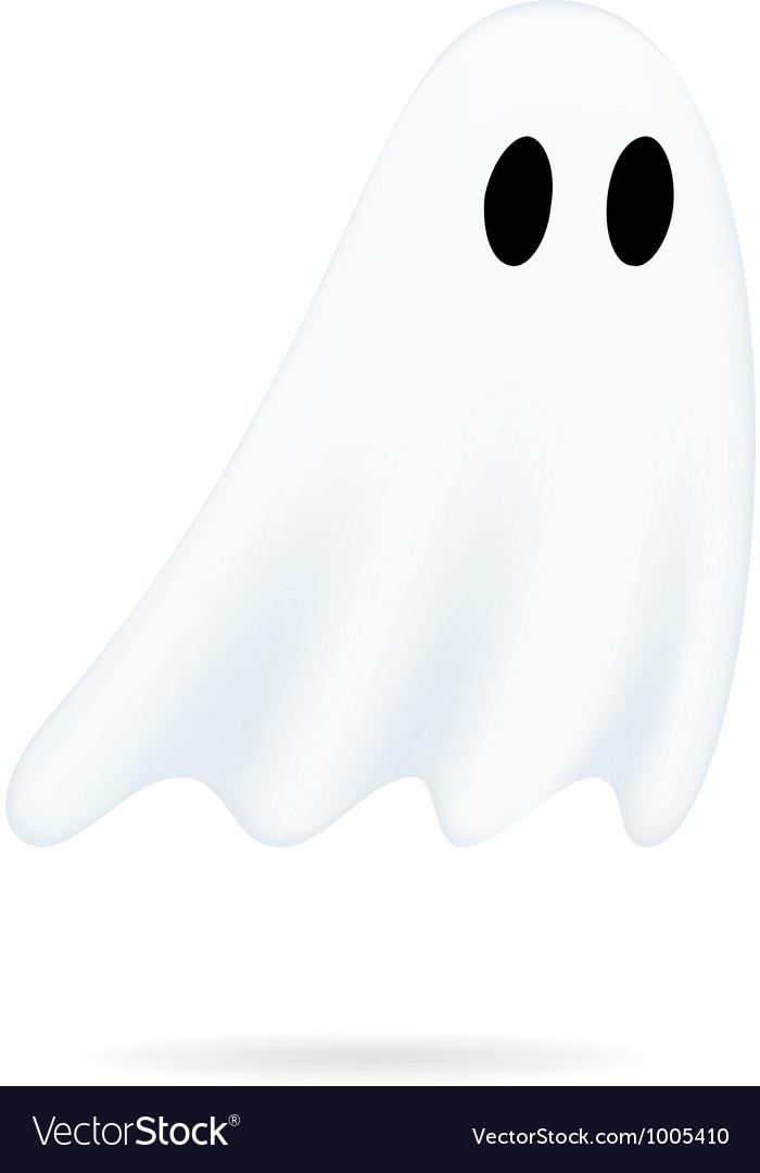 Ghost cartoon vector | Price: 1 Credit (USD $1)
