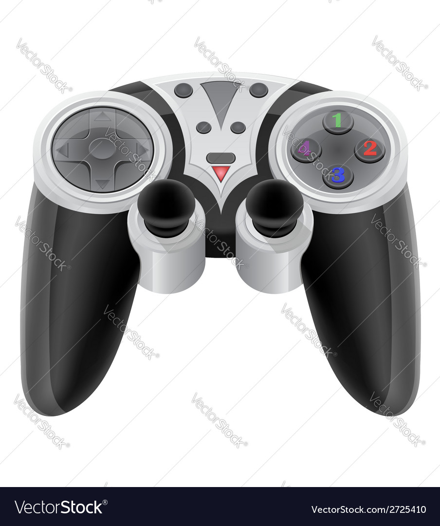 Joystick 01 vector | Price: 1 Credit (USD $1)