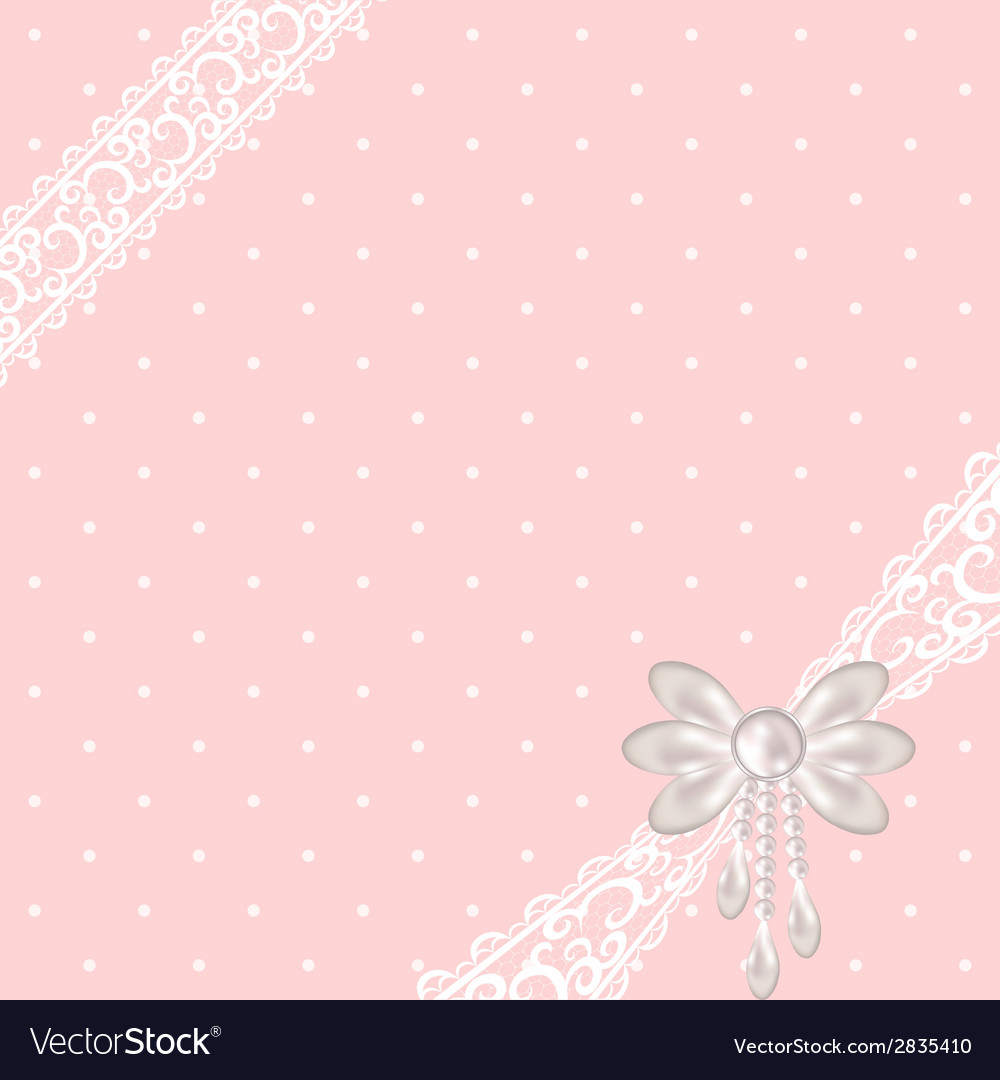 Pink polka dot background vector | Price: 1 Credit (USD $1)