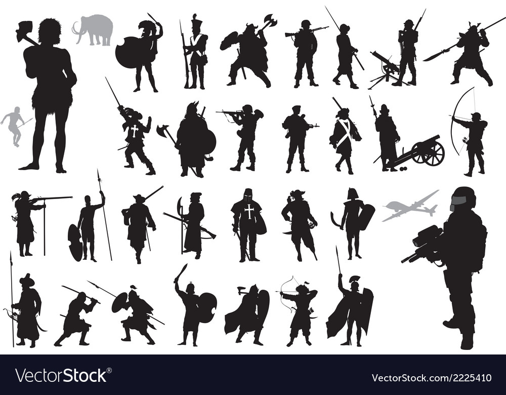 Warriors collection vector | Price: 1 Credit (USD $1)