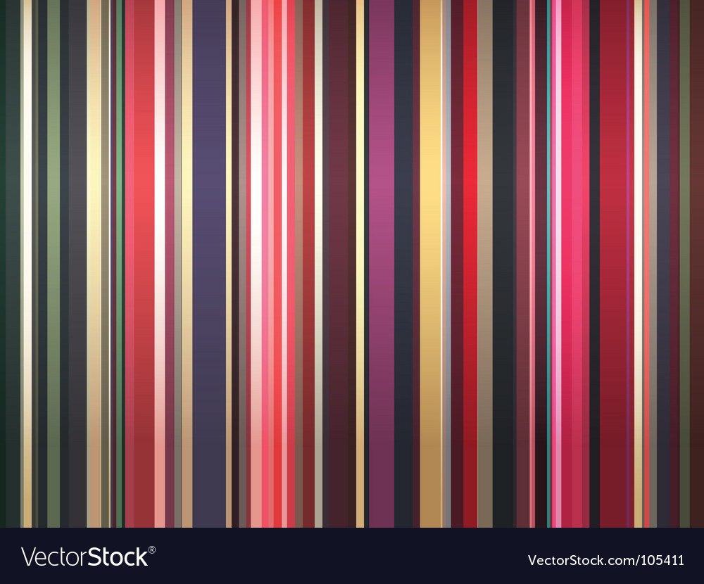Color stripes background vector | Price: 1 Credit (USD $1)