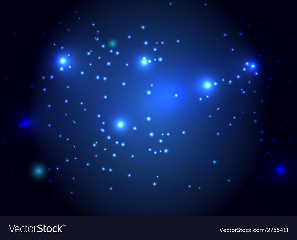 Star sky abstract background vector | Price: 1 Credit (USD $1)