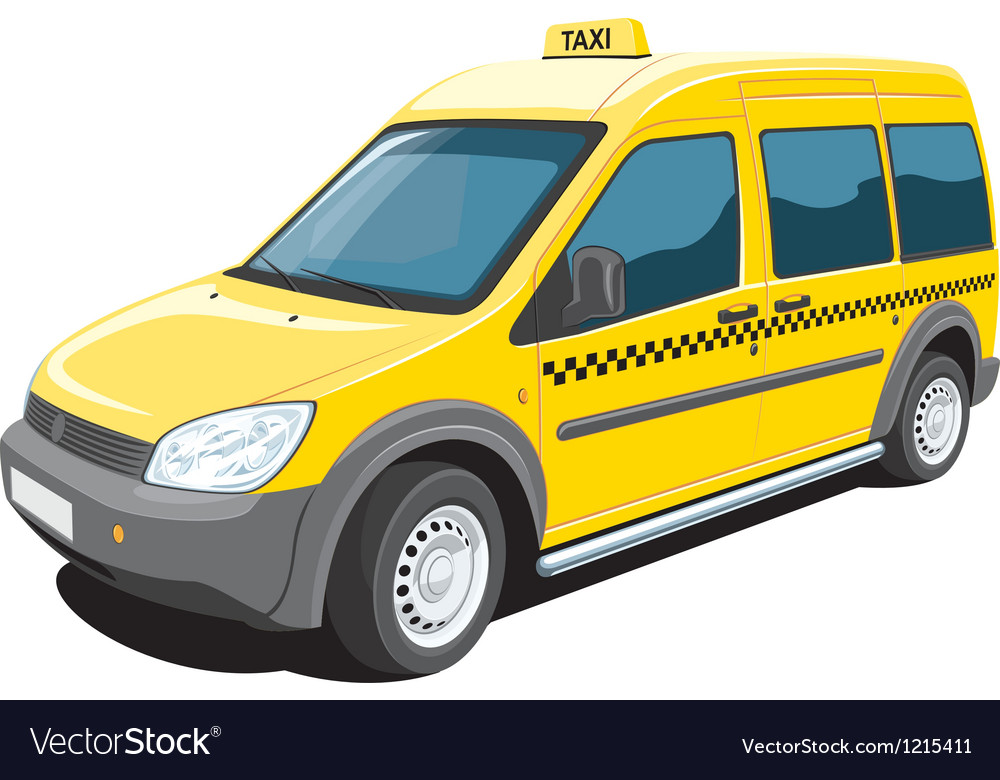Taxi vector | Price: 3 Credit (USD $3)
