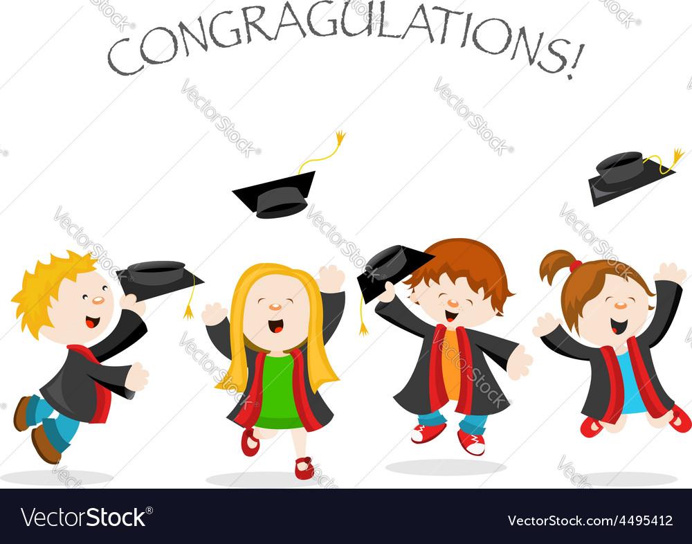 Graduation message vector | Price: 1 Credit (USD $1)