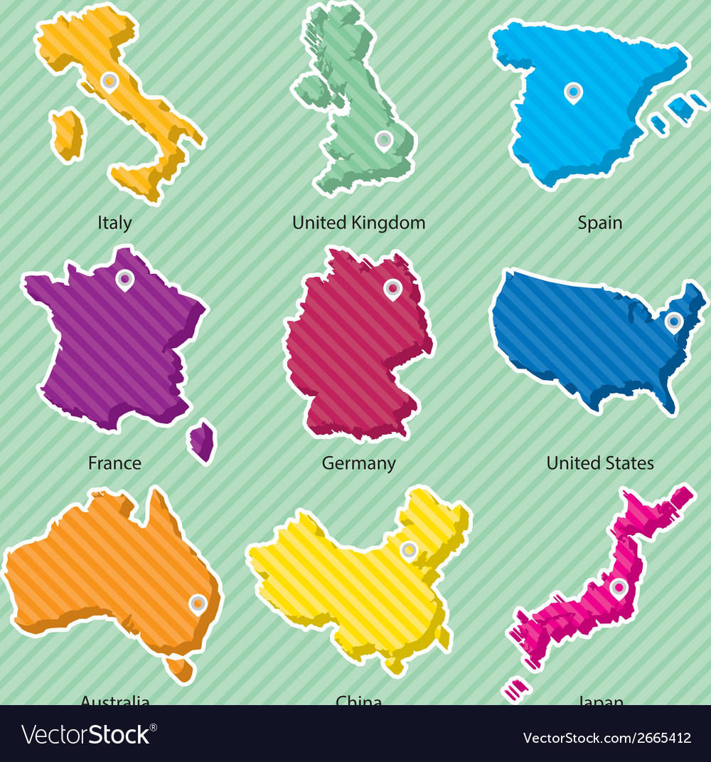 Maps 001 vector | Price: 1 Credit (USD $1)