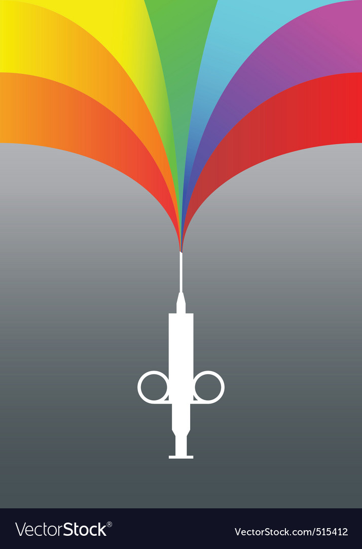 Rainbow injection vector | Price: 1 Credit (USD $1)