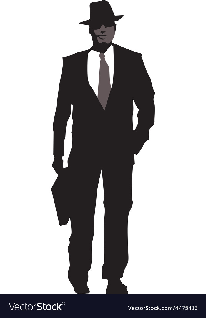 Business men sillhouettes vector   Price: 1 Credit (USD $1)