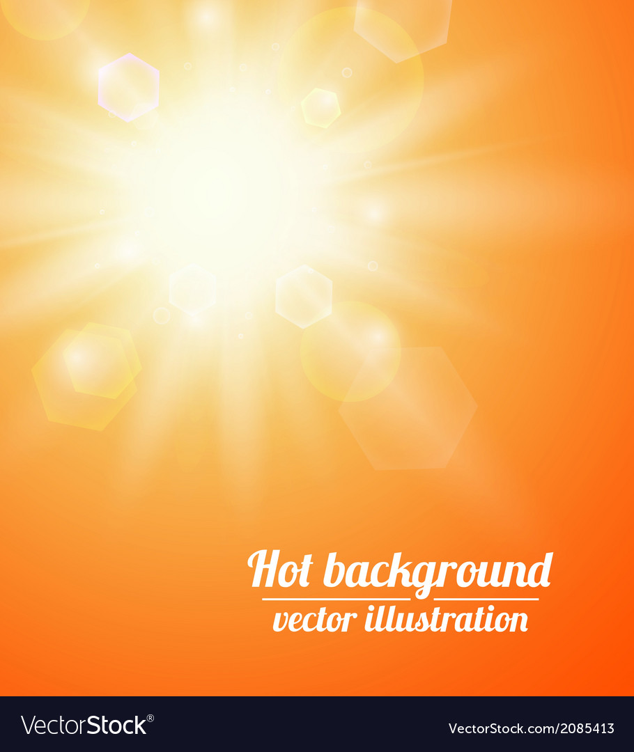 Summer background with a sun vector | Price: 1 Credit (USD $1)