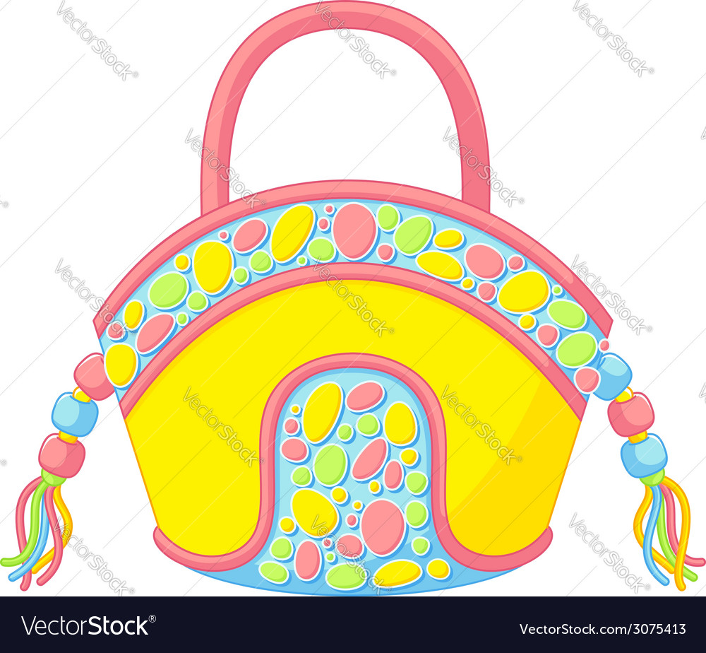 Summer handbag vector | Price: 1 Credit (USD $1)
