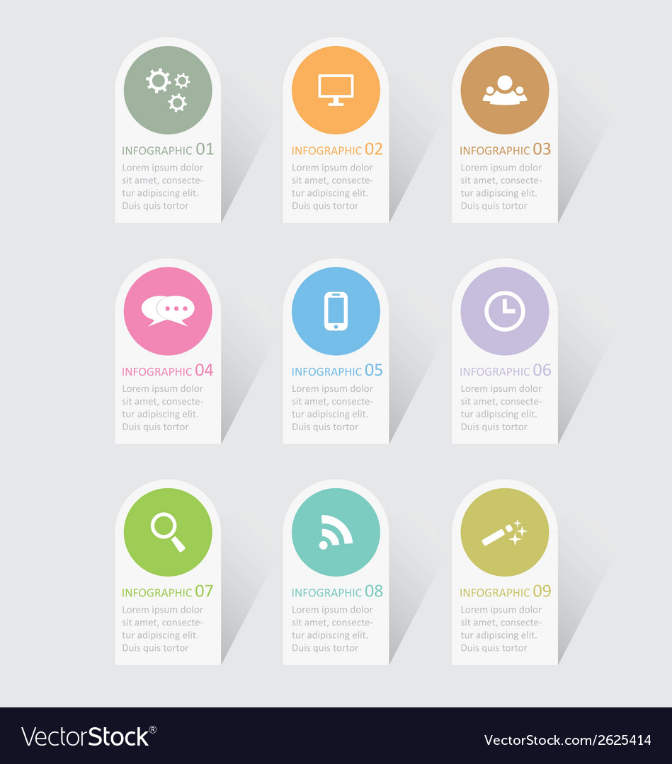 Infographic 15 vector | Price: 1 Credit (USD $1)